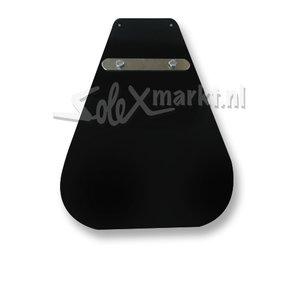 Spatlap zwart (lang model)