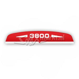 Sticker Luchtfitlerhuis Solex 3800