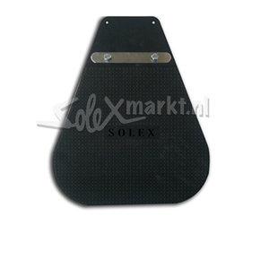 Spatlap zwart (lang model) met opdruk Solex!