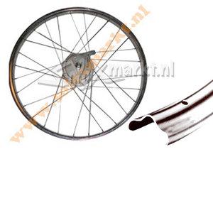 Solex achterwiel (Trommelrem) 19'' - Compleet gespaakt - (met rug)