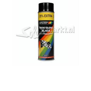 Spuitbus verf - Hoogglans zwart