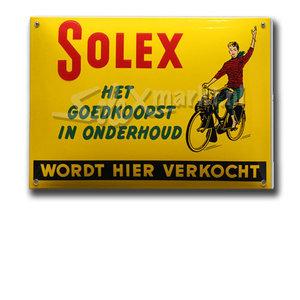 Solex emaille bord - Het goedkoopst in onderhoud (14x10cm)