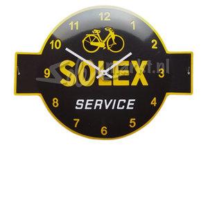 Solex emaille Klok - Solex Service (53x40cm)
