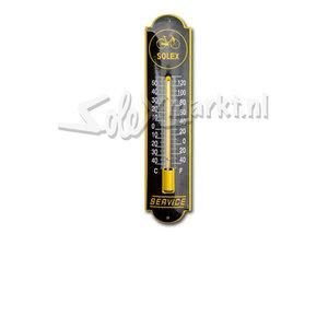 Solex emaille thermometer - Solex Service (6,5x30cm)