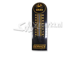 Solex emaille thermometer - Solex Service (22x75cm)